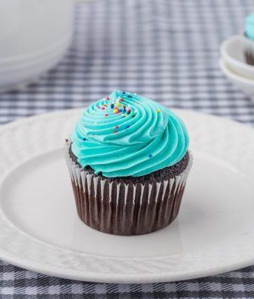 Chocolate Vanilla Cupcake