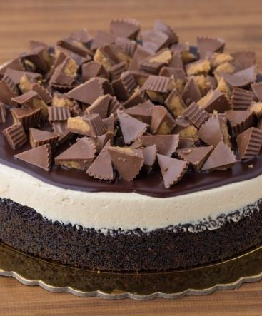 One-Layered Reese's Cake