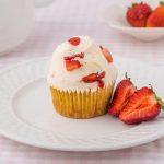 Strawberries N' Cream Cupcake