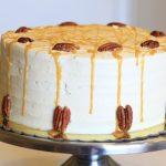 Vanilla Caramel Pecan Cake