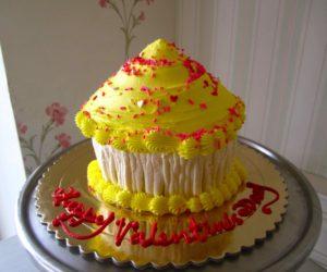 yellow-jumbo-cupcake