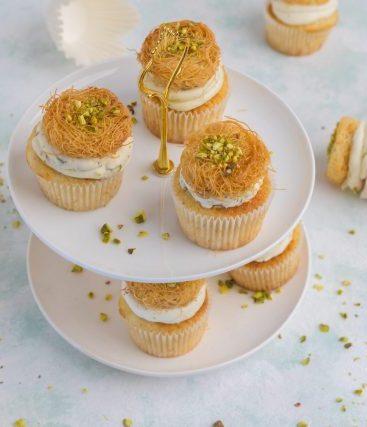 Kunafeh Cupcake