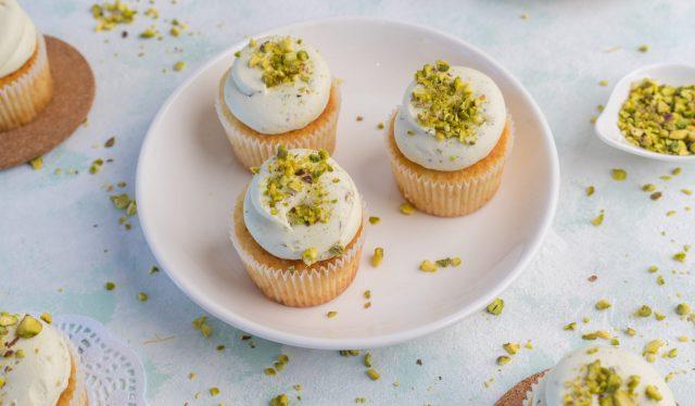 Pistachio Cupcake