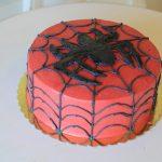 Cake Design – Black Spider