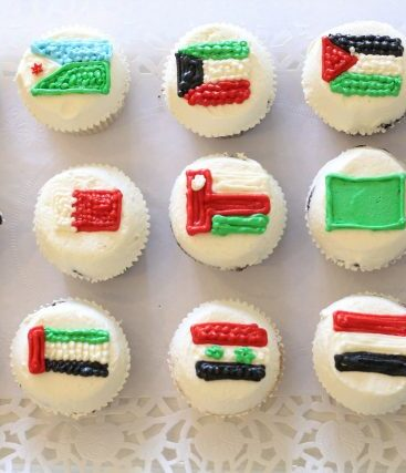 Cupcake Design – Flags