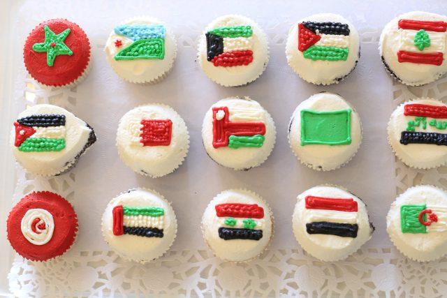 Cupcake Design – Flags