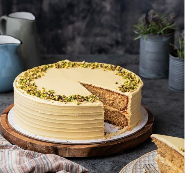 Vanilla Pistachio Cake – 2