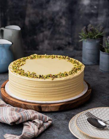 Vanilla Pistachio Cake