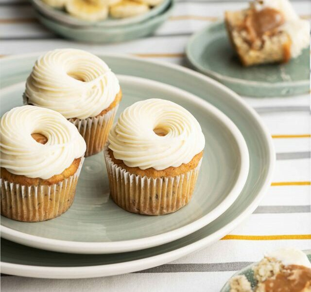 Banoffee-Cupcake