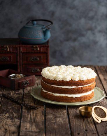Black Tea Honey Cake 1