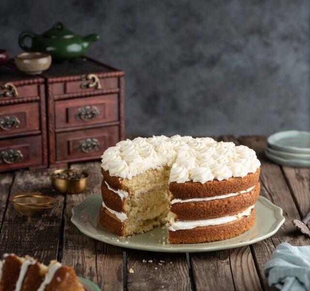 Black Tea Honey Cake 2