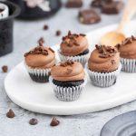 Mini-Double-Chocolate-Cupcake