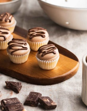 Mini-Nutella-Cupcake