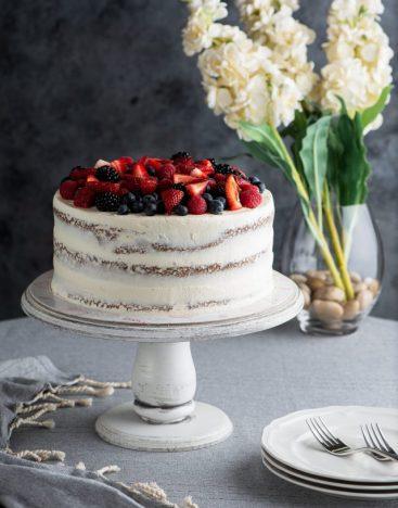 Mixed Berries Cake 1