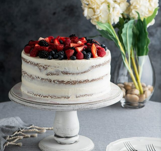 Mixed Berries Cake 1