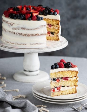 Mixed Berries Cake 2
