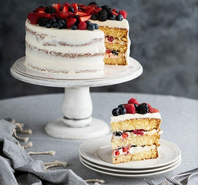 Mixed Berries Cake 2