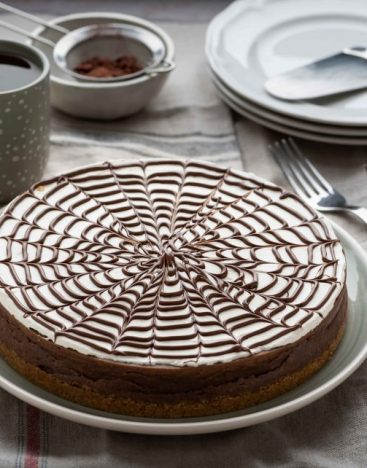 Nutella-Cheesecake