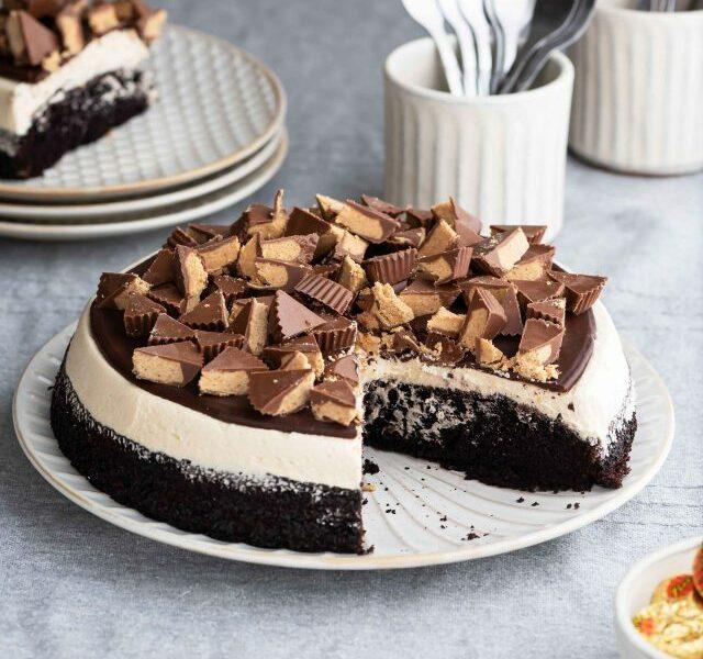 One-Layered-Reese's-Cake-2