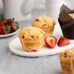 Strawberry-Muffin