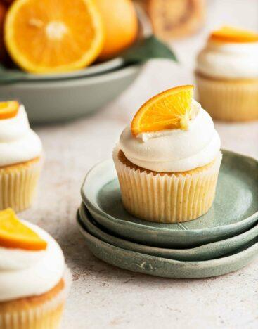 Orange-Cupcake