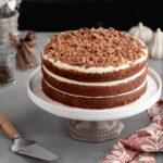 Pumpkin Caramel Cake