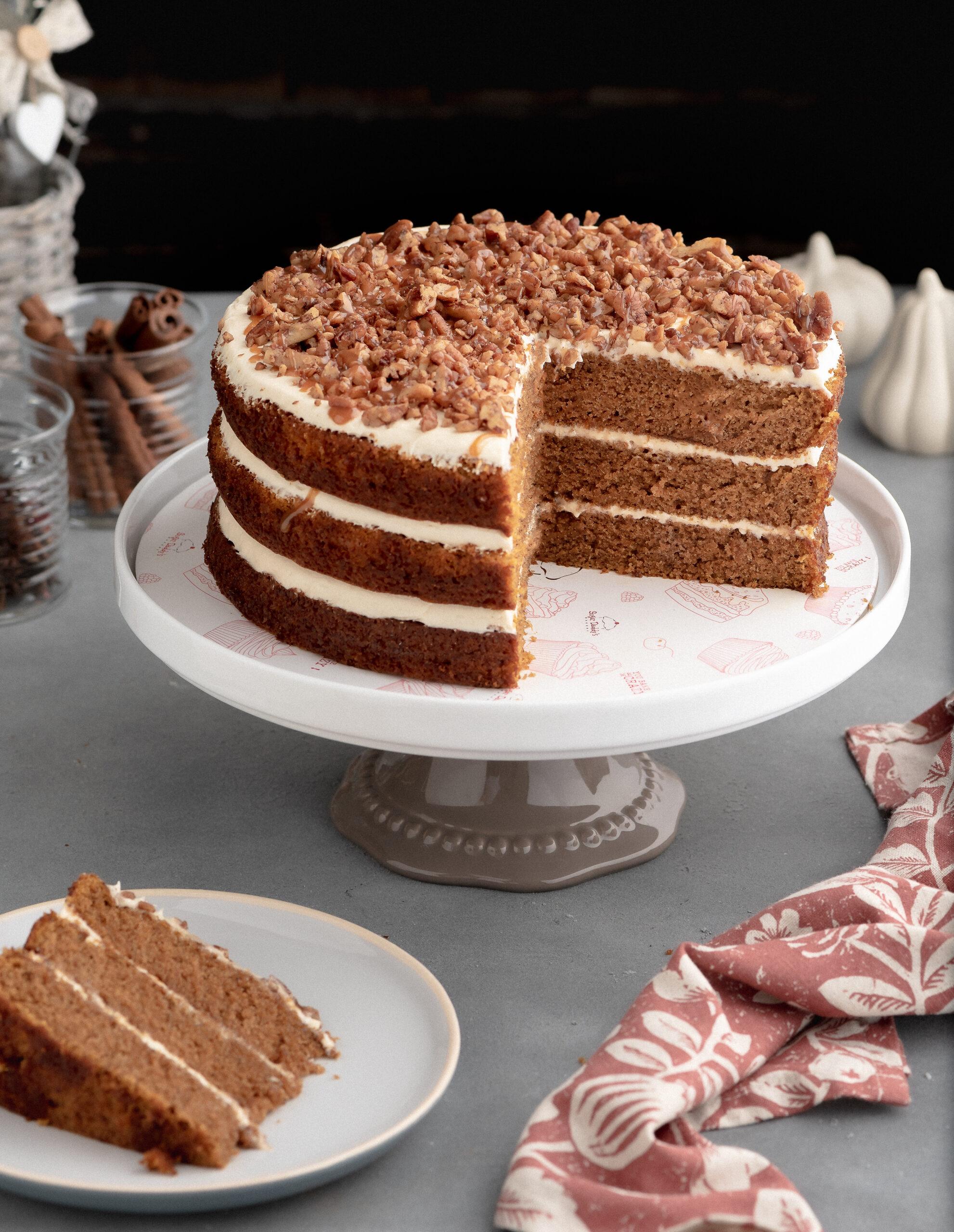 sugar-daddys-pumpkin-cake-with-salted-caramel-frosting
