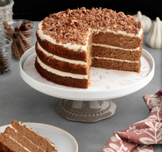 Pumpkin Caramel Cake 2