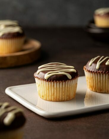 Boston Cream Cupcake