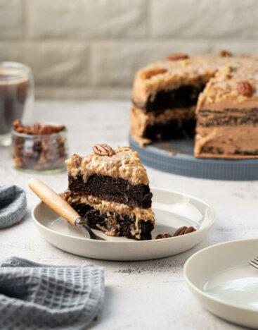 German Chocolate Cake 2