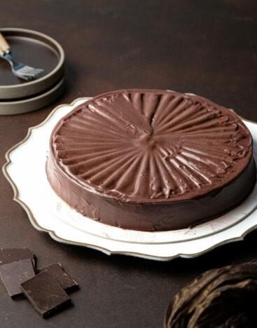 Gluten-Free Flourless Chocolate Torte 1