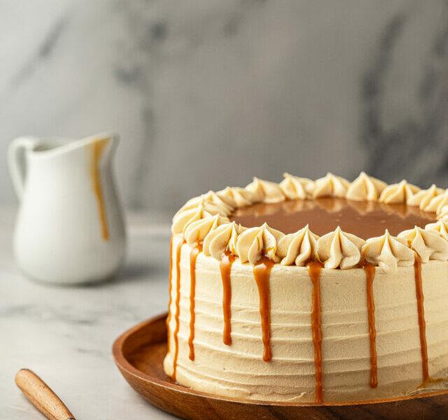 Salted Caramel Cake 1