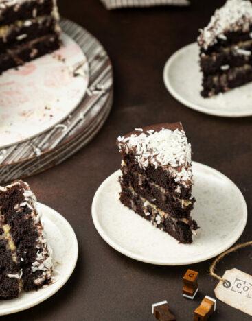 Coconut Chocolate Cake 2