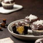 Coconut Chocolate Cupcake 2