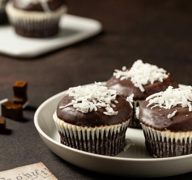 Coconut Chocolate Cupcake