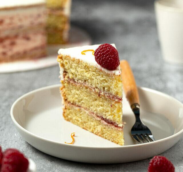 Raspberry Orange Cake 2