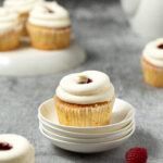 Raspberry Orange Cupcake