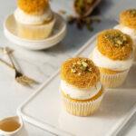 Kunafeh Cupcake 2