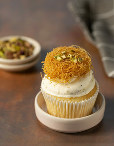 Kunafeh Cupcake 3