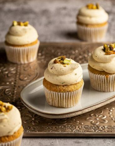 Pistachio Cupcake 2