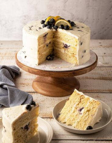 Lemon BLueberry Cake 2